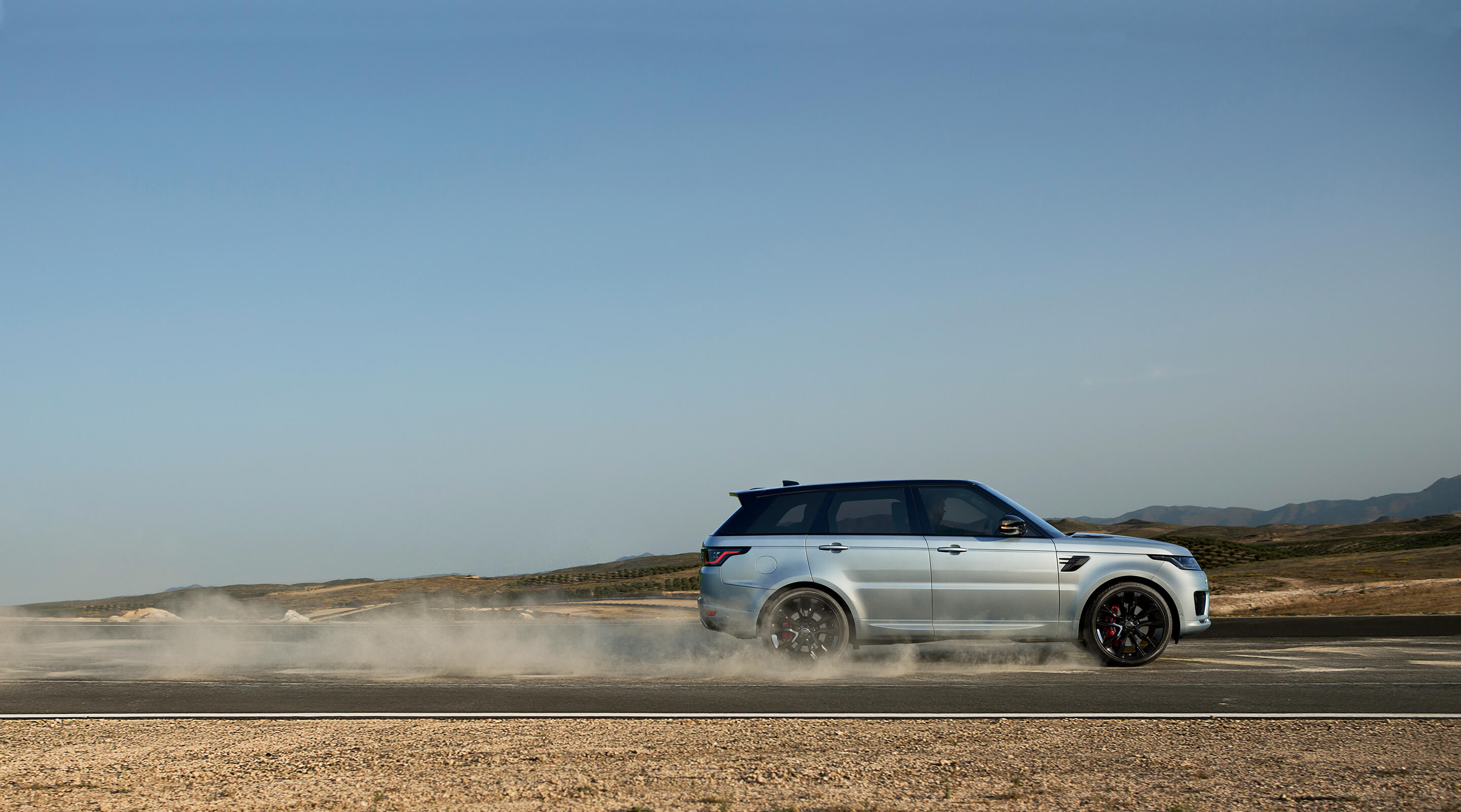 Announcing new arrivals to the fleet: Range Rover Sport and Range Rover Velar