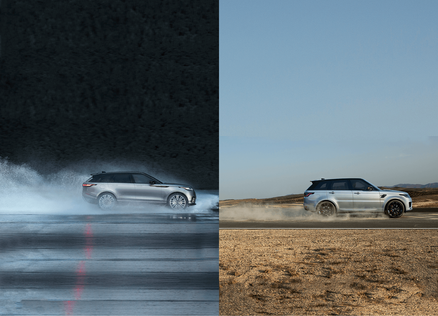 Range Rover Sport vs. Range Rover Velar - Two Magnificent Beasts