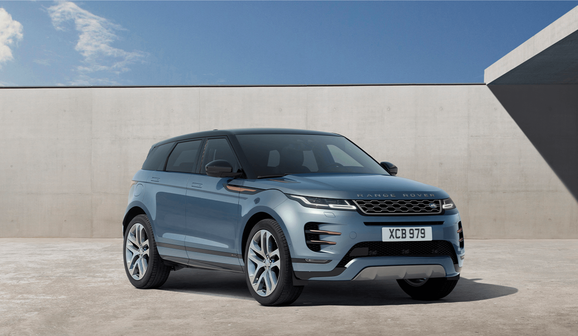 Range Rover Evoque - newest arrival