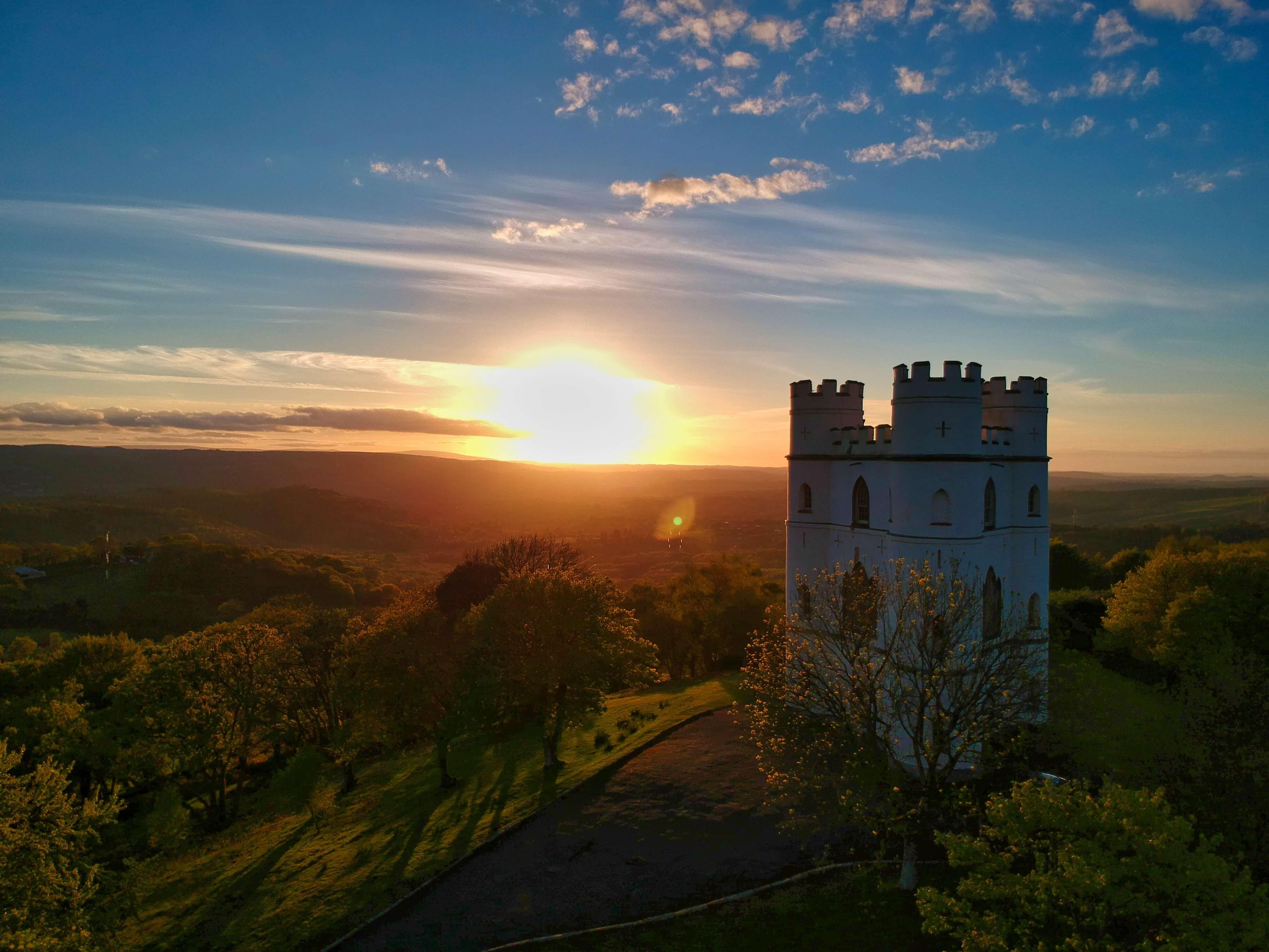 castle in Dorset